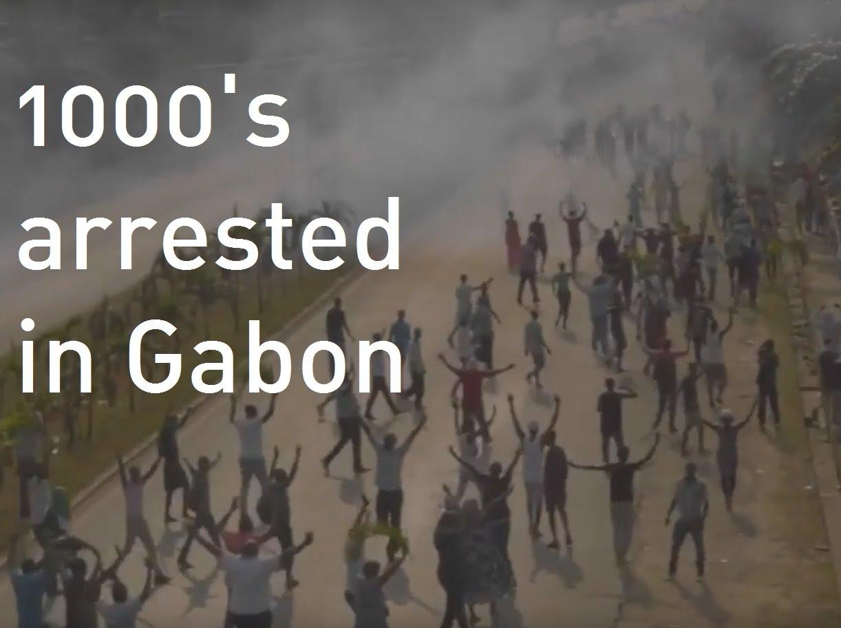 VIDEO: Veliki prosvjedi u afričkoj državi Gabon