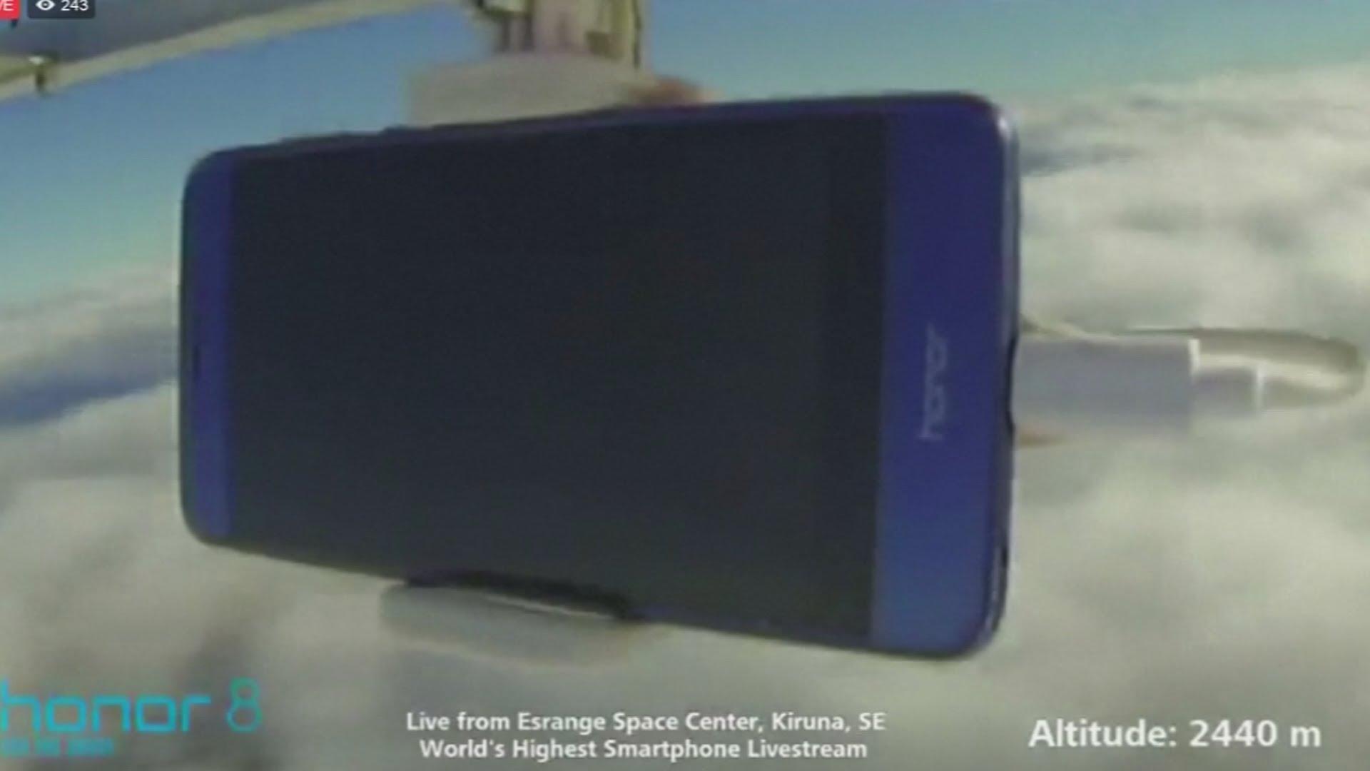 VIDEO: Oboren rekord za 'najviši' livestream putem pametnog telefona