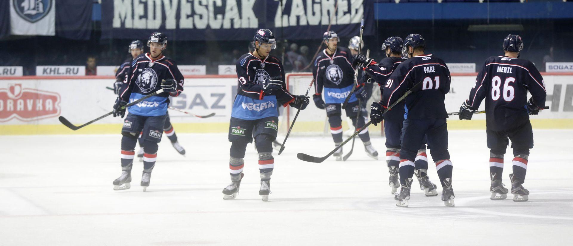 KHL: Težak poraz Medveščaka