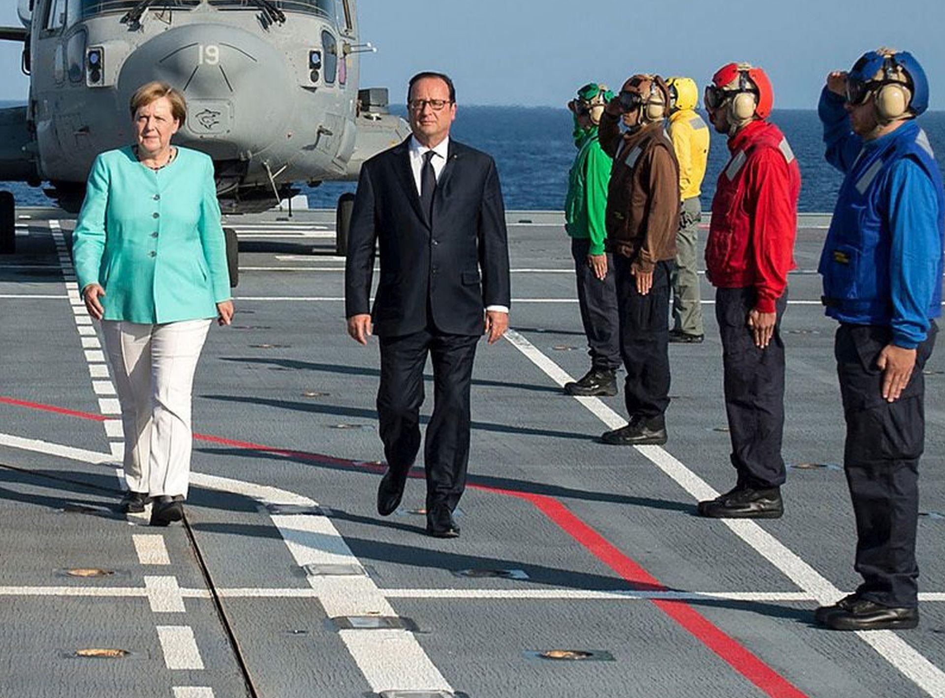 ZAJEDNIČKO PRIOPĆENJE: Merkel i Hollande zabrinuti zbog stanja u istočnoj Ukrajini