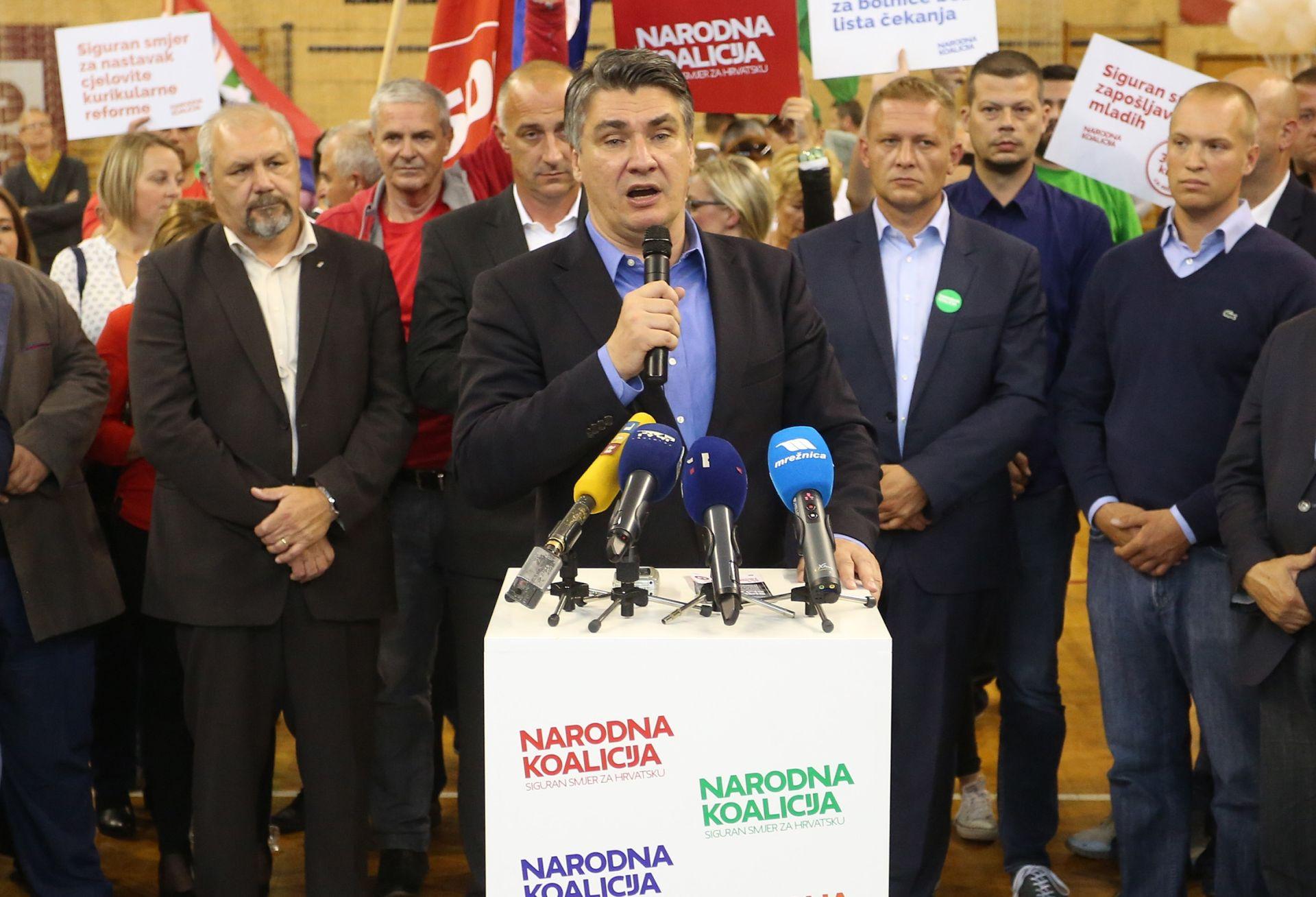 ZORAN MILANOVIĆ: 'Omogućiti Hrvatskoj dvadeset dobrih godina'