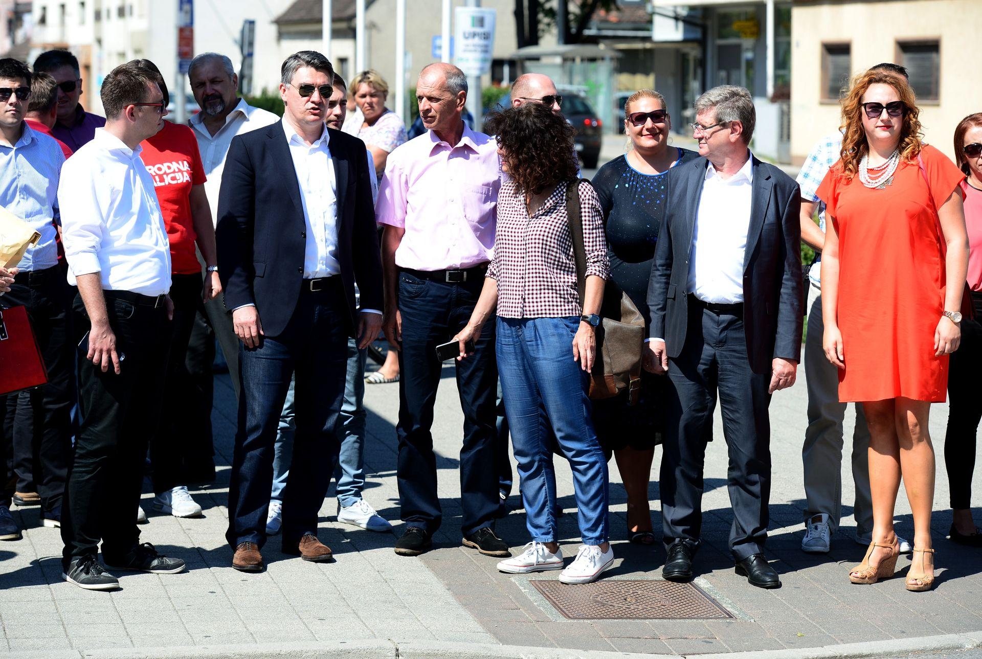 IZBORI 2016: Vukovarski SDP osudio žvižduke protiv Milanovića u Vukovaru