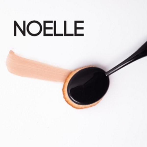 Najveća ovalna četka idealna je za ravnomjerno nanošenje tekućeg i kremastog pudera