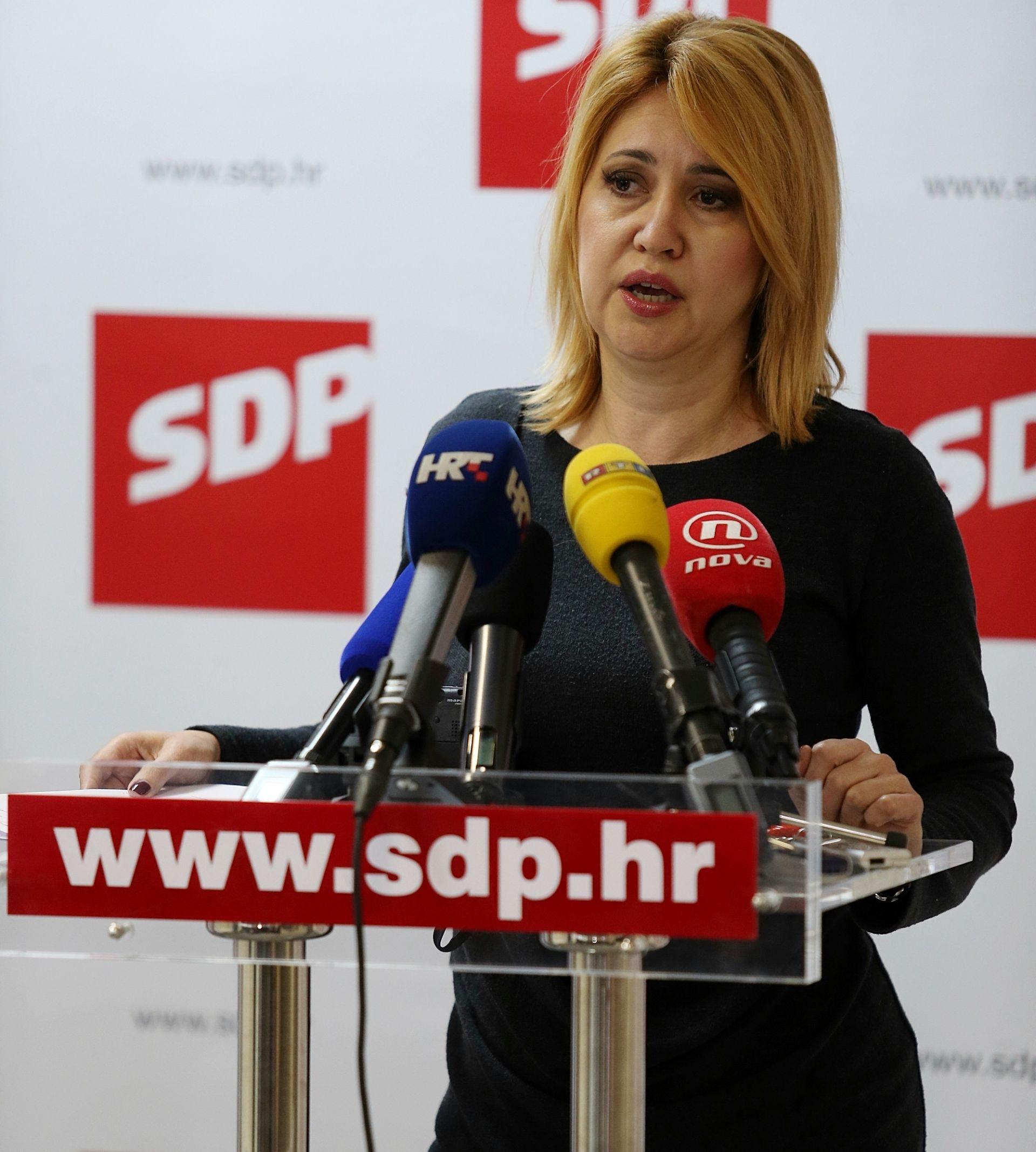 MILANKA OPAČIĆ: Prvi krug izbora za predsjednika SDP-a 19. studenoga