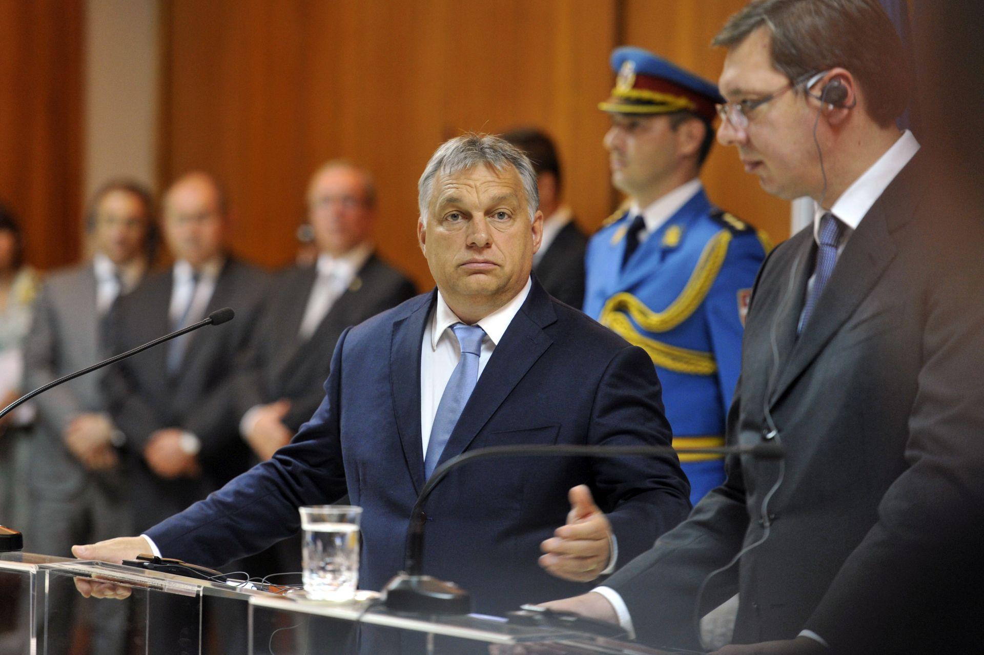 ORBAN VUČIĆU: Mađarska ne prihvaća da bilo tko blokira put Srbije EU