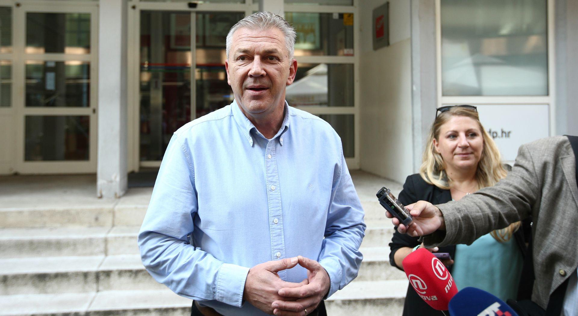 Ranko Ostojić predao kandidaturu za predsjednika SDP-a