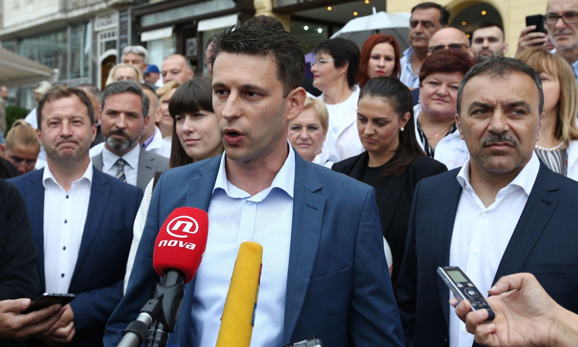 PETROV: 'Prošlo je već pet dana od postavljanja uvjeta, HDZ i SDP se još nisu izjasnili'
