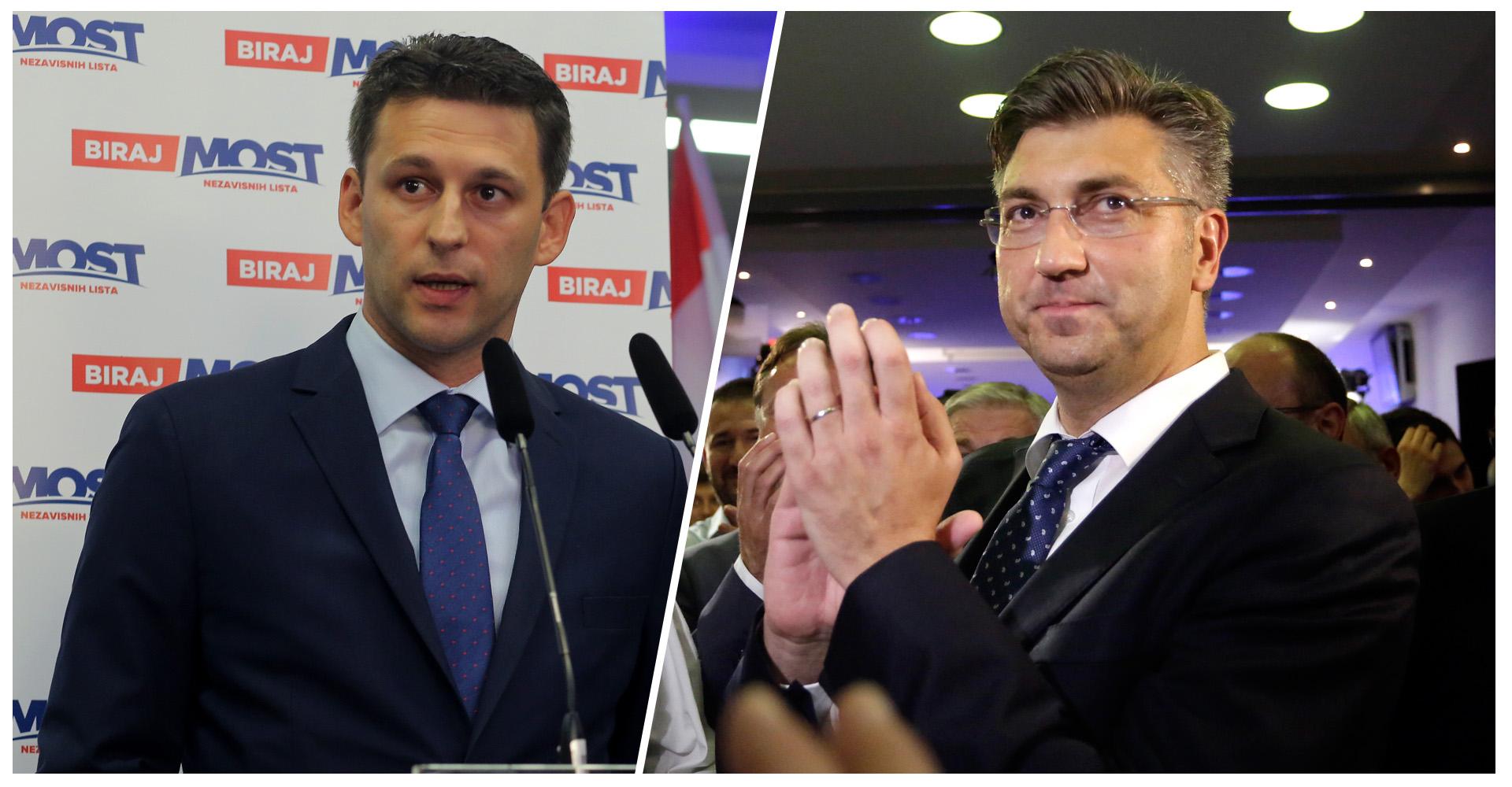 Plenković: Imamo dovoljno potpisa; prioritet stvoriti stabilnu Vladu s Mostom
