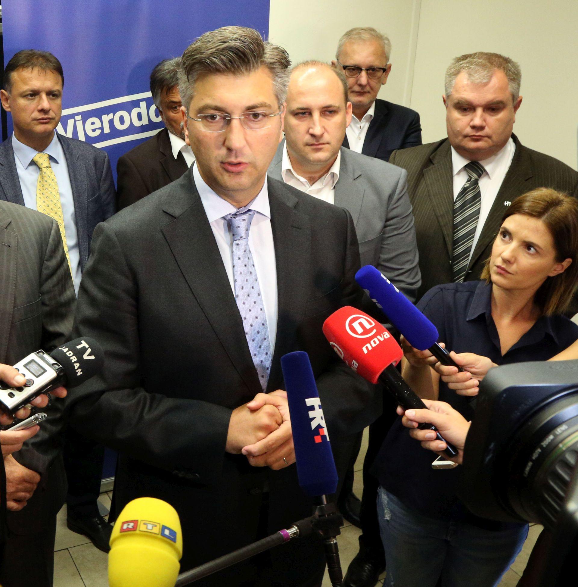 PLENKOVIĆ ZA ARD: 'Protjerat ću ekstremizam iz naše stranke'