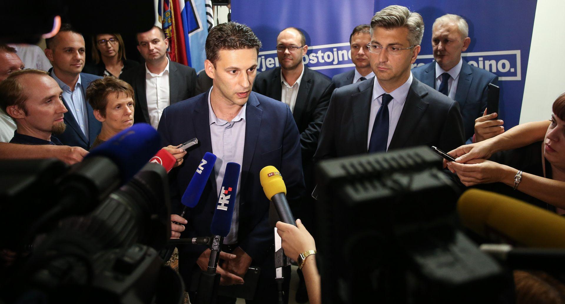 SASTANAK HDZ-a I MOST-a Petrov: 'Slažemo se da ovo bude mali zalog buduće suradnje'