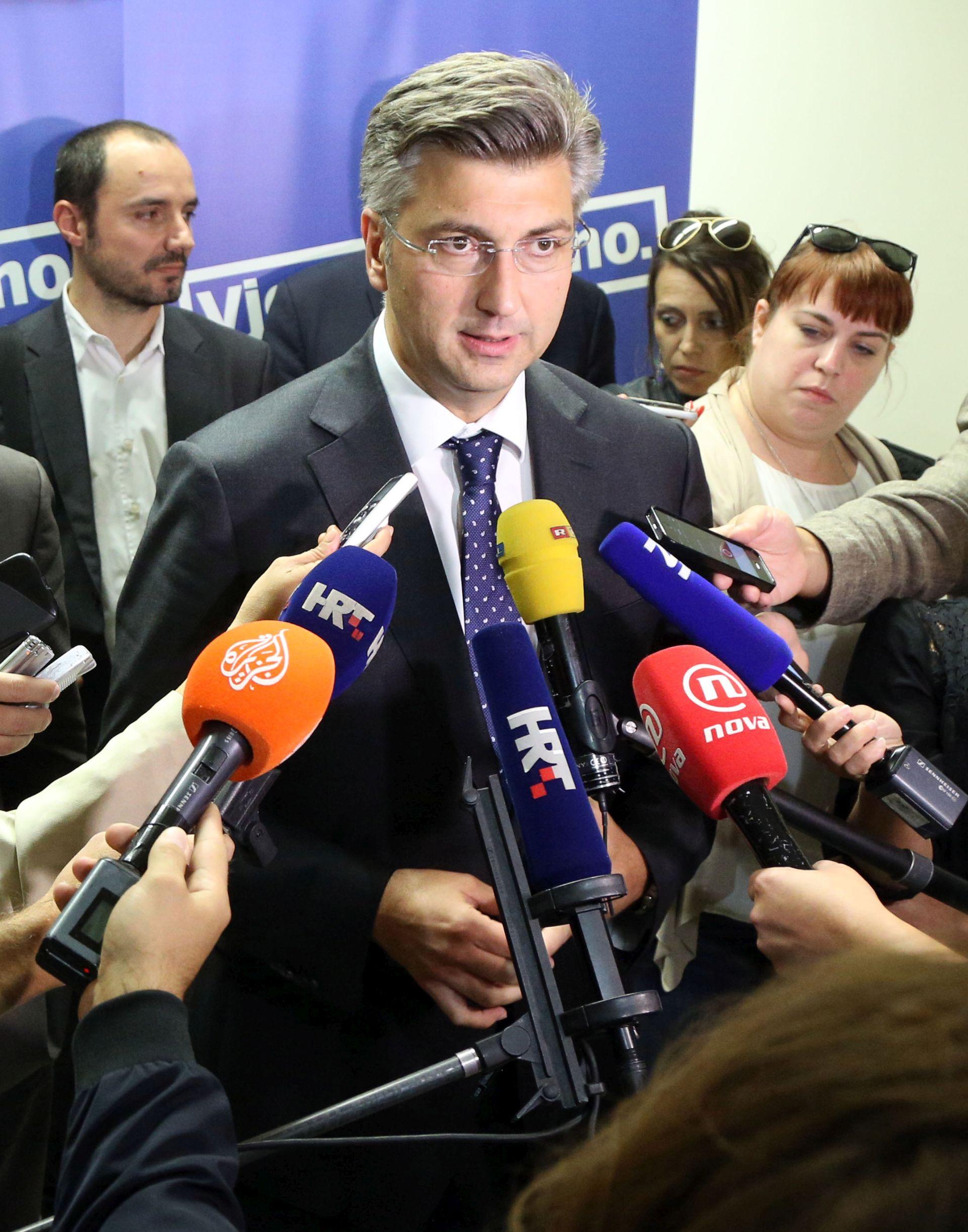 FORMIRANJE VLADE: Plenković ne vidi problem u tome da Petrov ima mjesto prvog potpredsjednika
