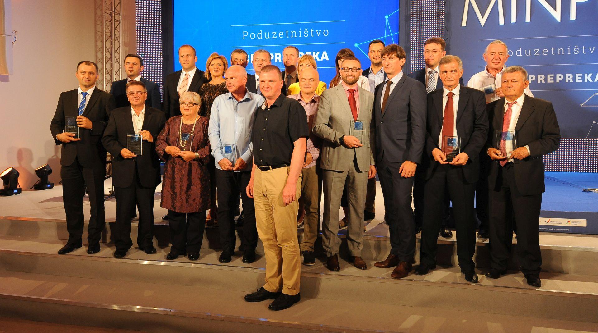 DEVET KATEGORIJA: Dodijeljene nagrade najboljim poduzetnicima u Hrvatskoj za 2015.