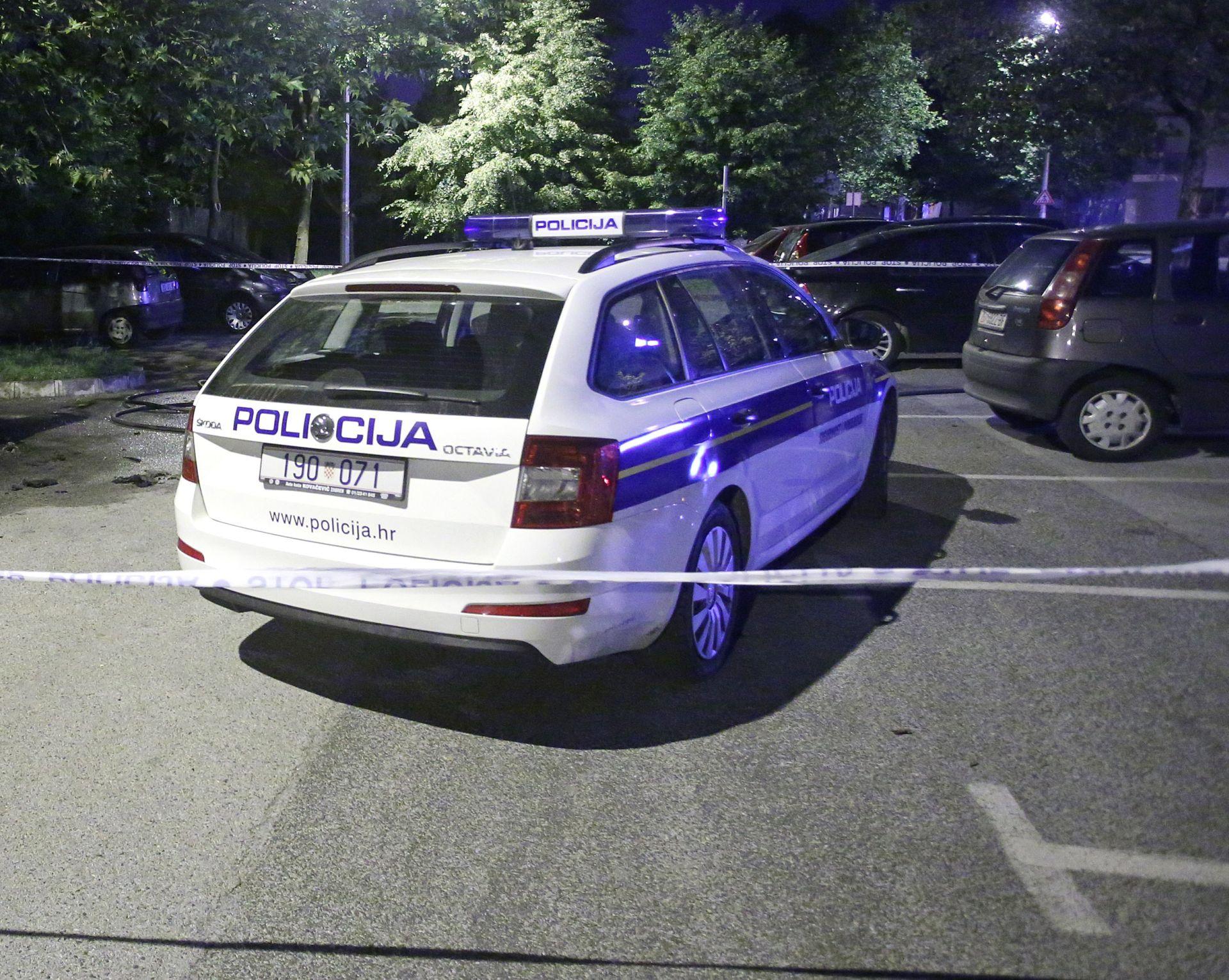 ZAGREB U sudaru tri vozila jedno gorjelo, jedna osoba ozlijeđena