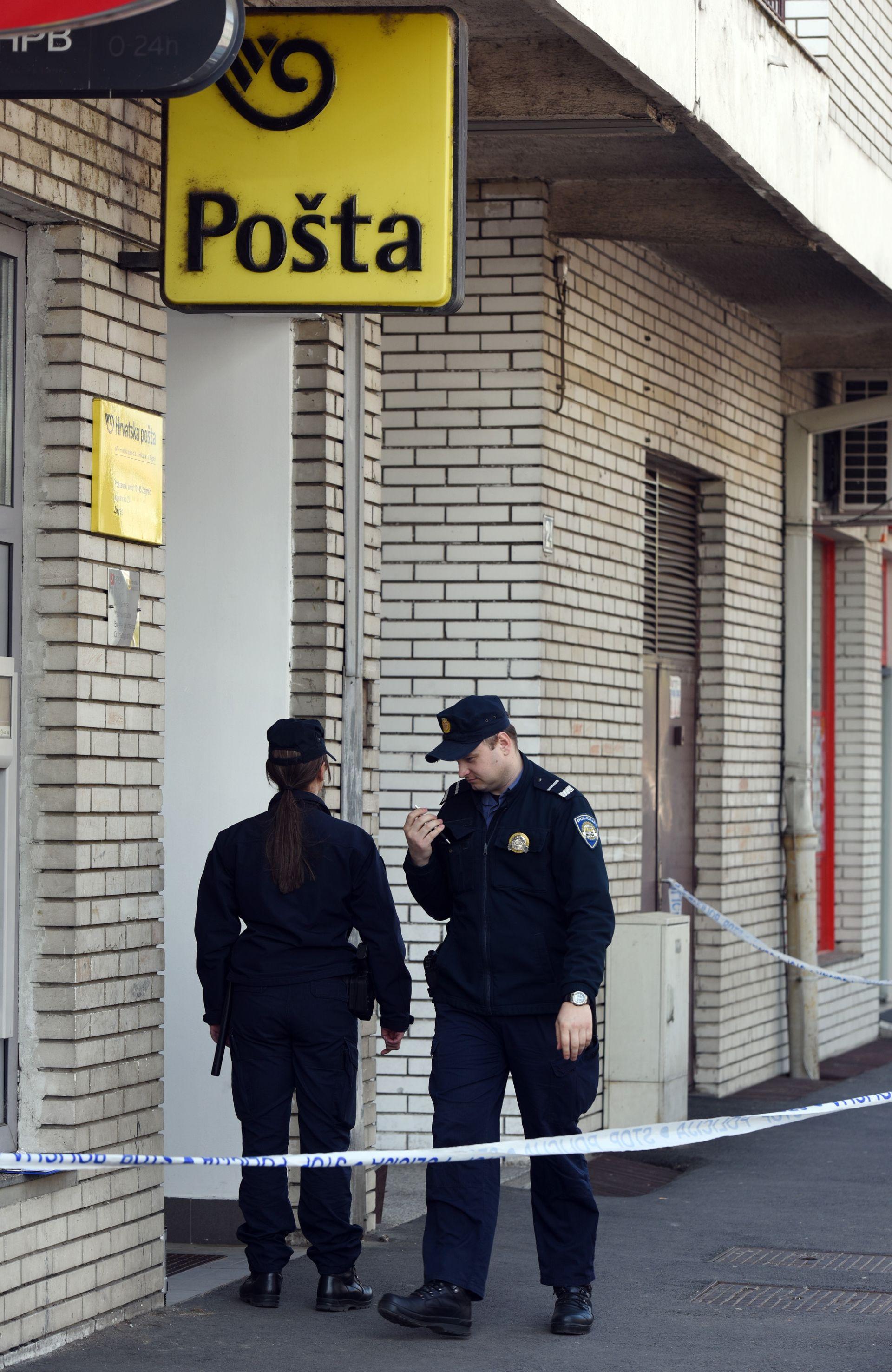 OČEVID U TIJEKU: U Folnegovićevom naselju u Zagrebu opljačkana pošta
