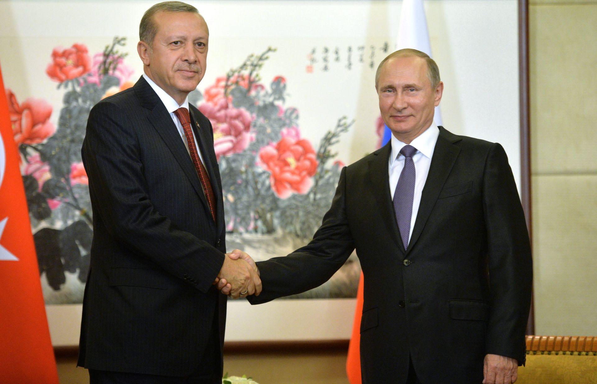 UOČI SUMMITA G20: Putin i Erdogan o uspostavi punih diplomatskih odnosa