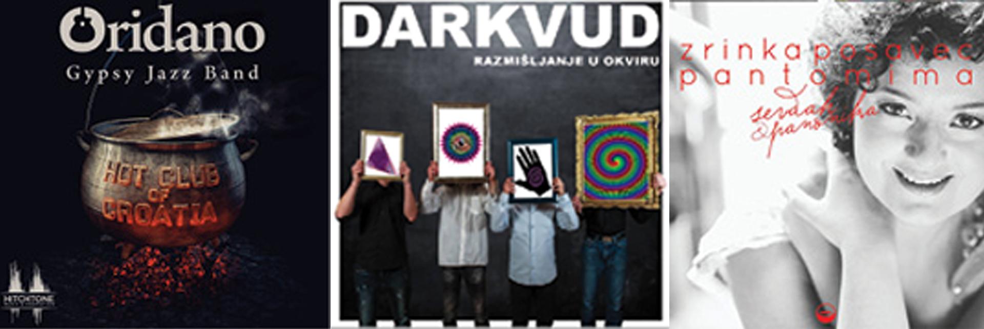 GLAZBENE RECENZIJE : Oridano Gipsy Jazz Band, Darkvud, Zrinka Posavec
