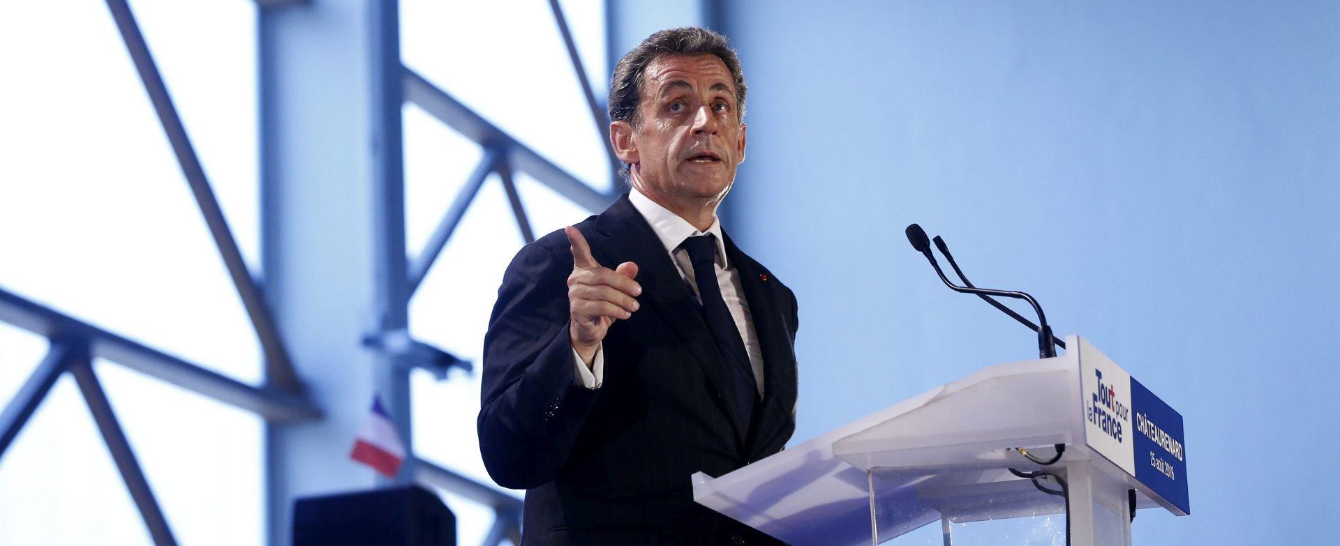 Uhićen bivši francuski predsjednik Nicolas Sarkozy