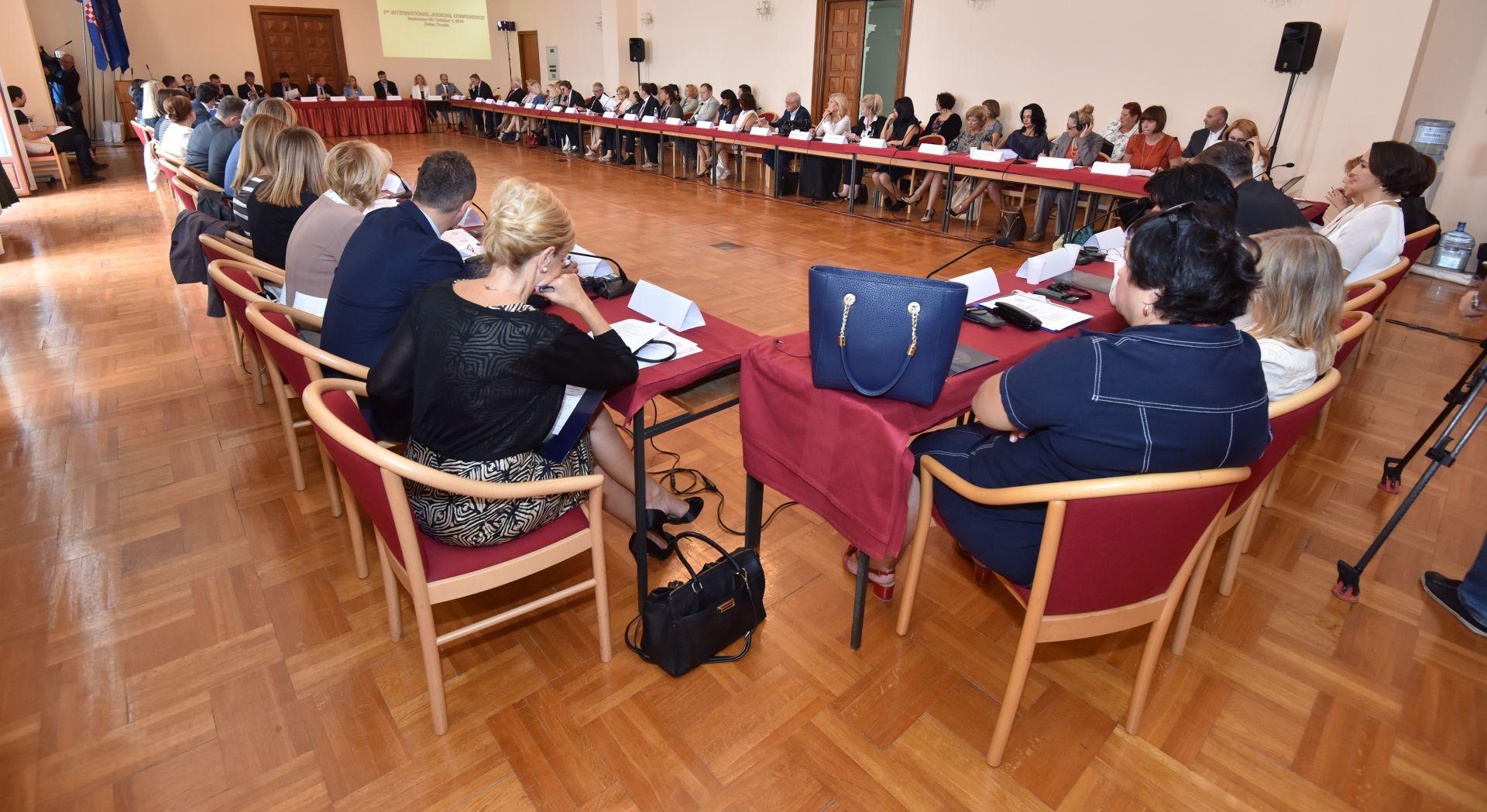 ZADAR Dvodnevna međunarodna konferencija, sudjeluje 75 sudaca iz 15 zemalja