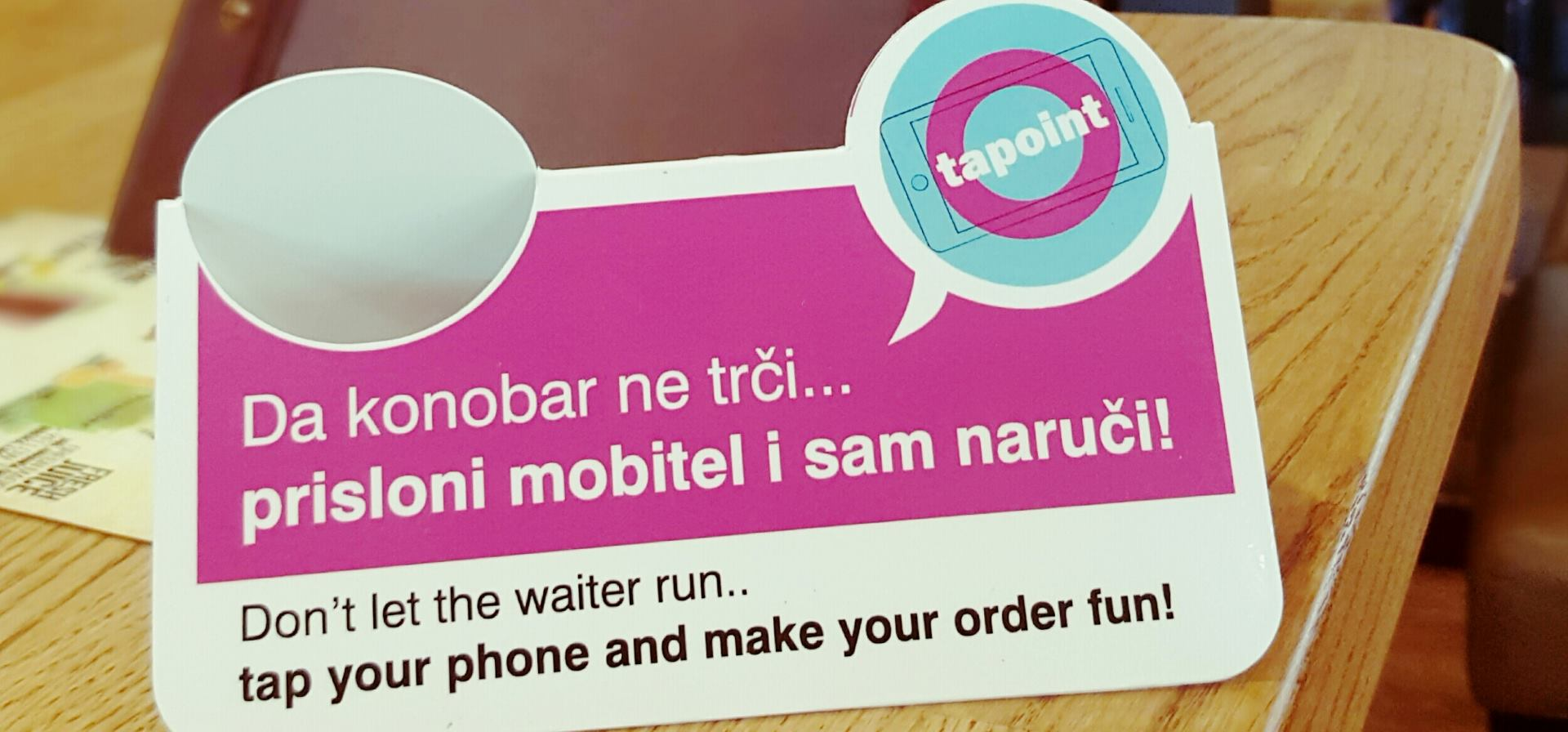 VIDEO: TAPOINT mobilno bezkontaktno naručivanje u VIVAS barovima