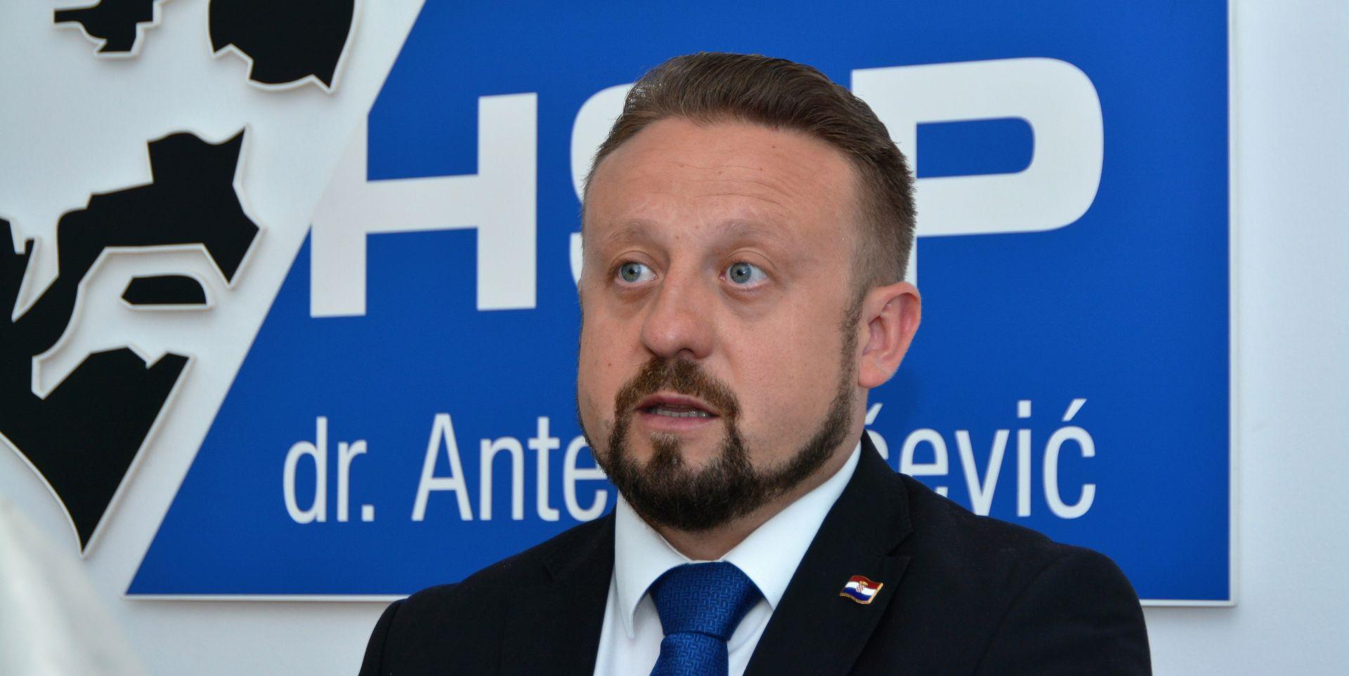 LOŠI REZULTATI: Tepeš podnio ostavku na mjesto predsjednika HSP-a AS