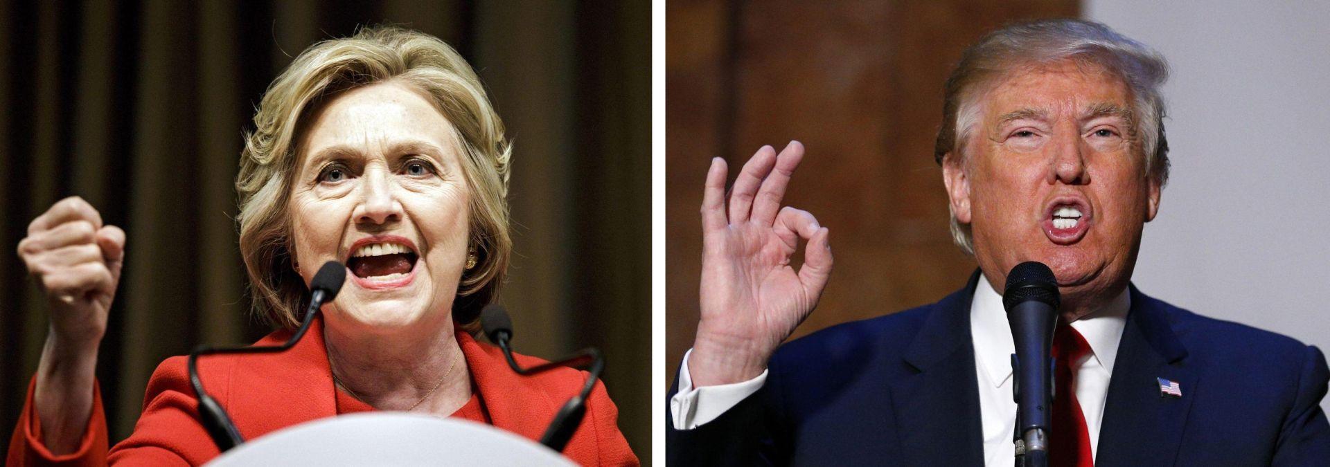 Bespoštedna borba Clinton i Trumpa u završnici