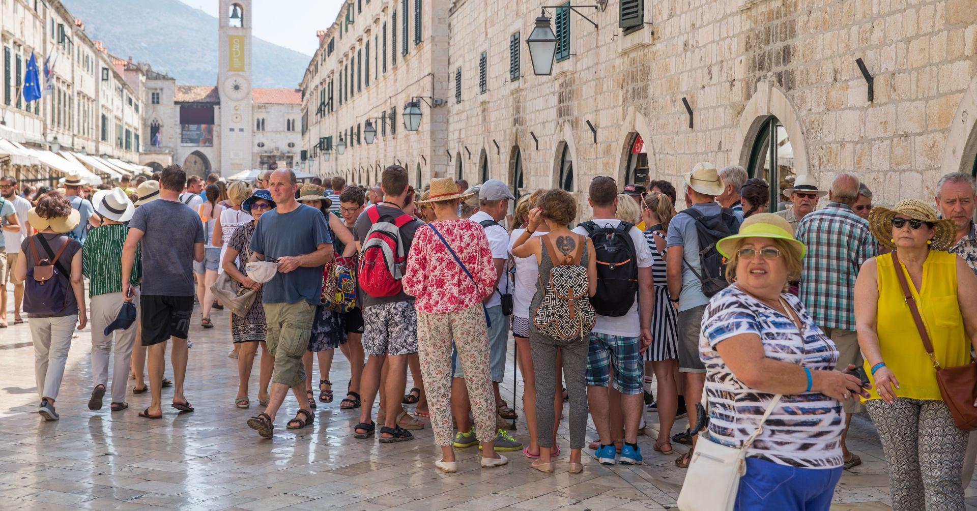 RAZVOJ TURIZMA: U Dubrovačko-neretvanskoj županiji 10 posto više turista nego lani