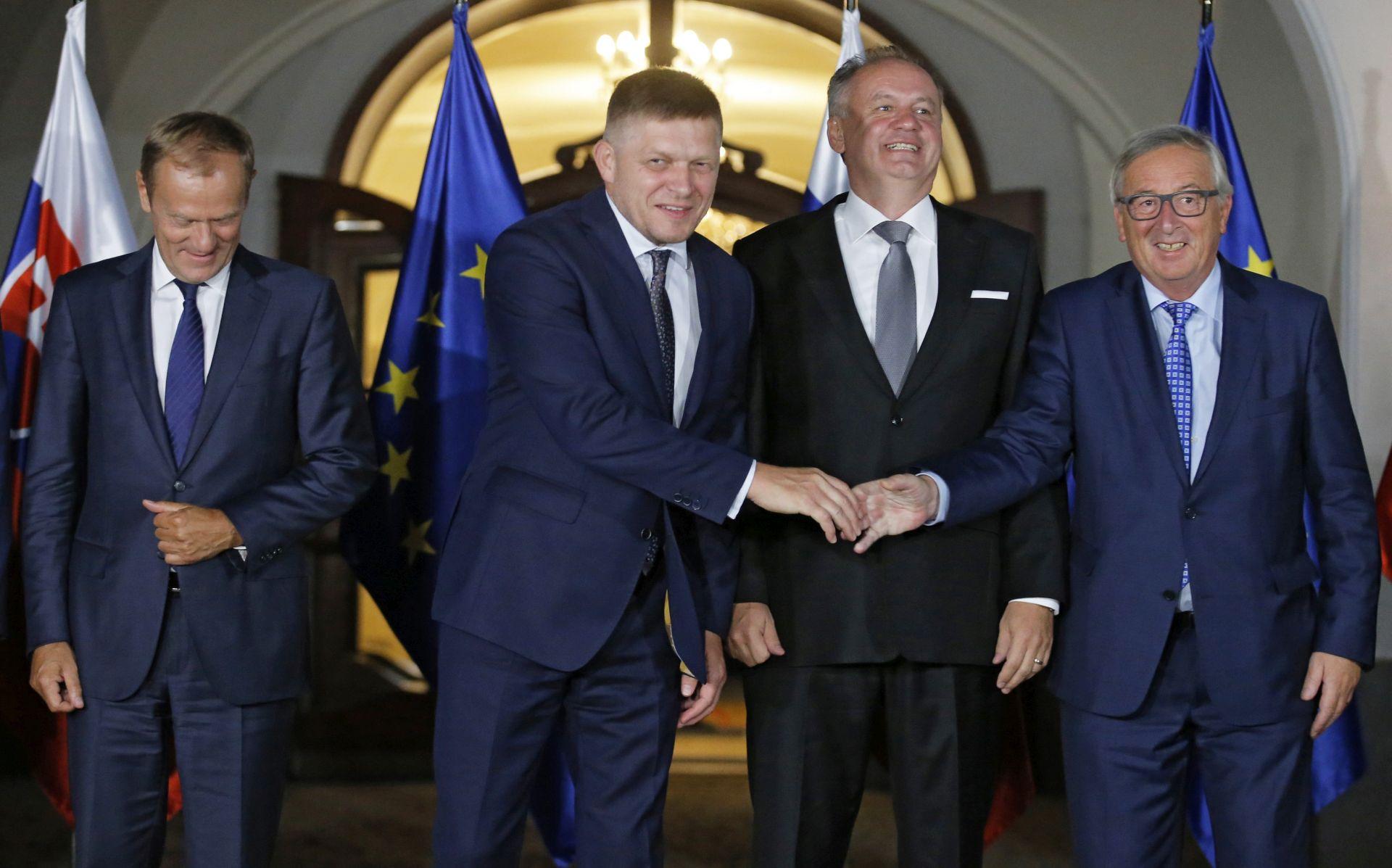 """Europski čelnici prihvatili """"smjernice iz Bratislave"""" u obnovi povjerenja u EU"""