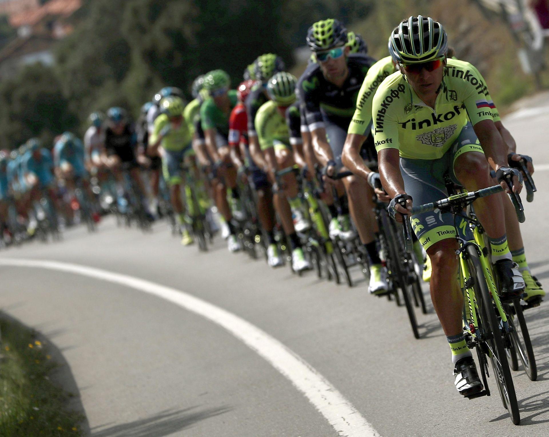 """VUELTA A ESPANA"": Keukeleireu 12. etapa, Quintana ostao vodeći, Đurasek 72."