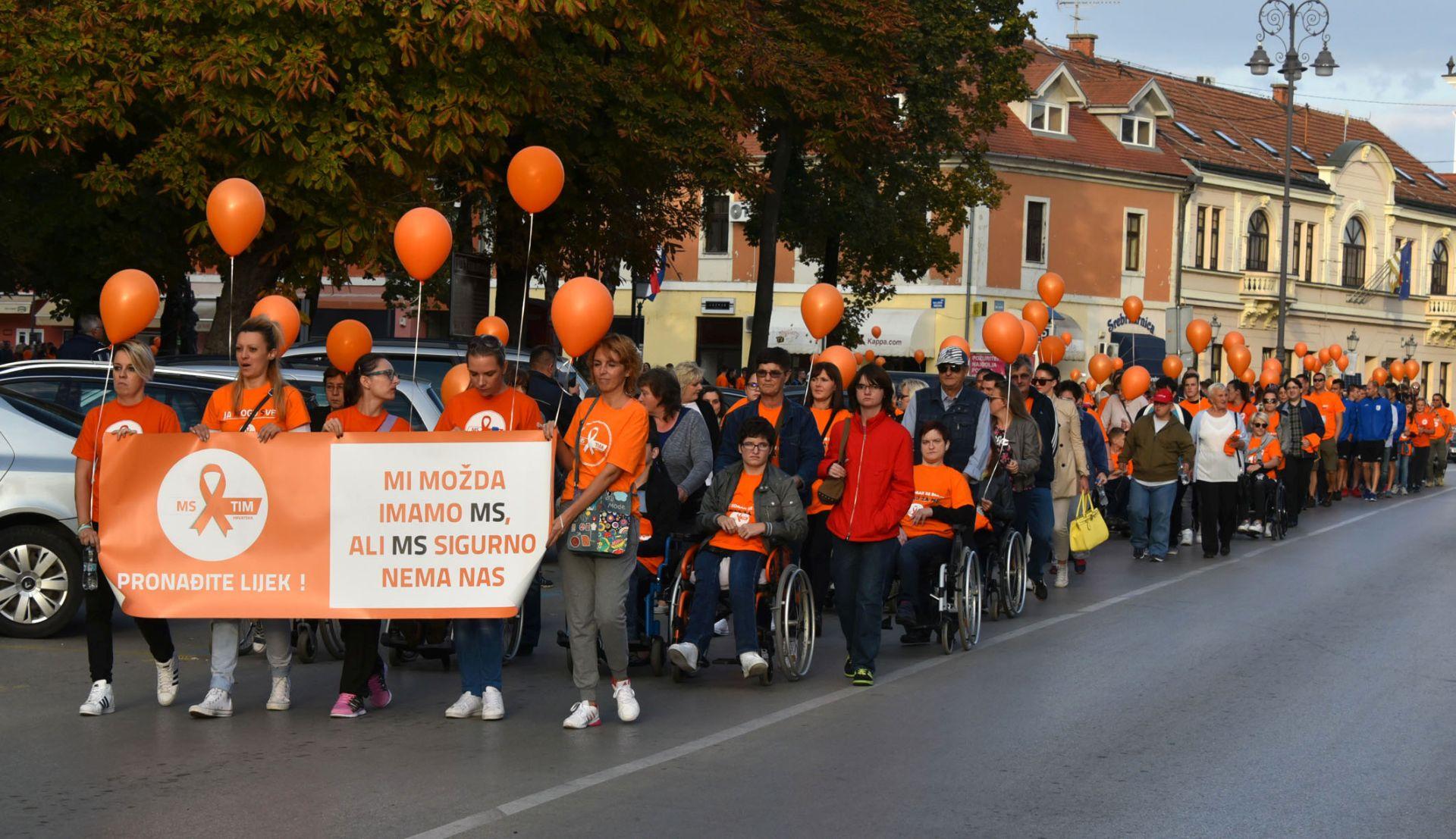 PRVI SLAVONSKI MS WALK: U Vinkovcima više od tisuću sudionika