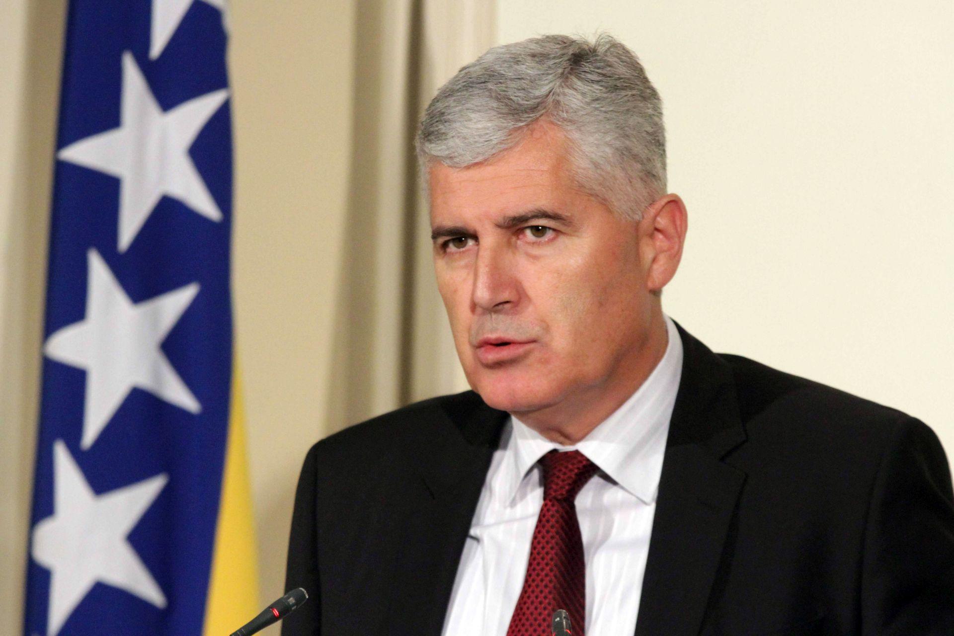 Čović od Zagreba očekuje da podrži legitimno predstavljanje Hrvata u BiH