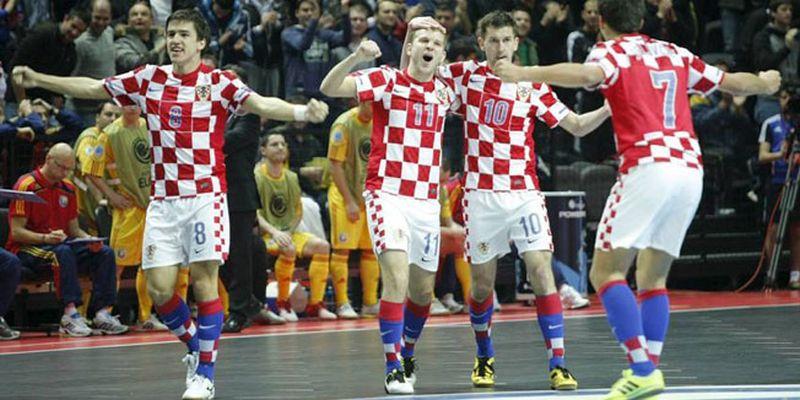 UEFA Futsal EURO 2018 Hrvatska u kvalifikacijskoj skupini sa Ukrajinom