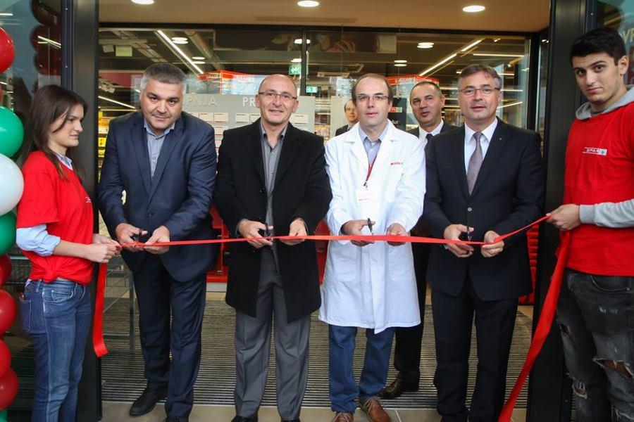 Otvorenju u zagrebačkom Stenjevcu nazočili su i gospodin Dubravko Peroš i gospodin Vladimir Andrić