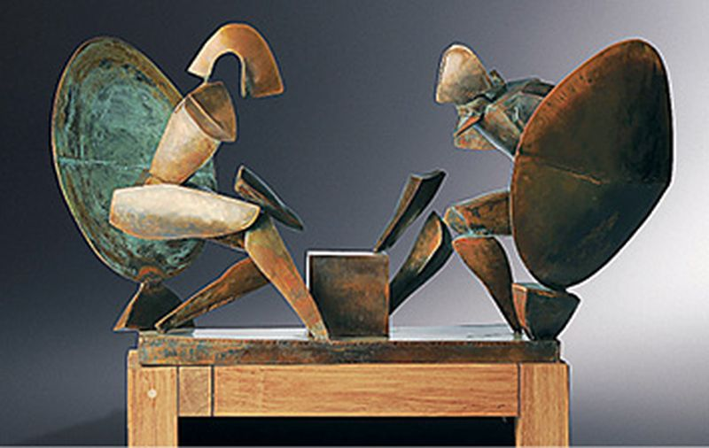 LIKOVNO POVEĆALO Rijetka koncentracija kvalitetnih kiparskih izložbi