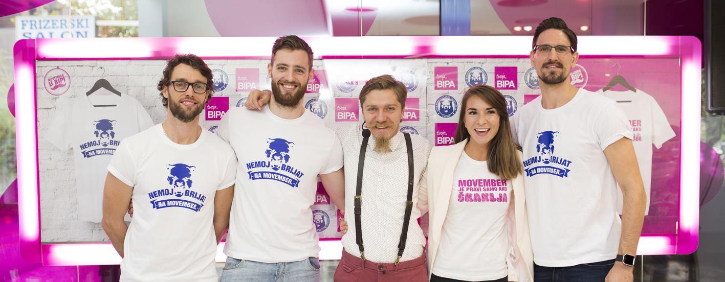 FOTO: 'Medvjedi' i BIPA zajedno u akciji o podizanju svijesti o muškom zdravlju