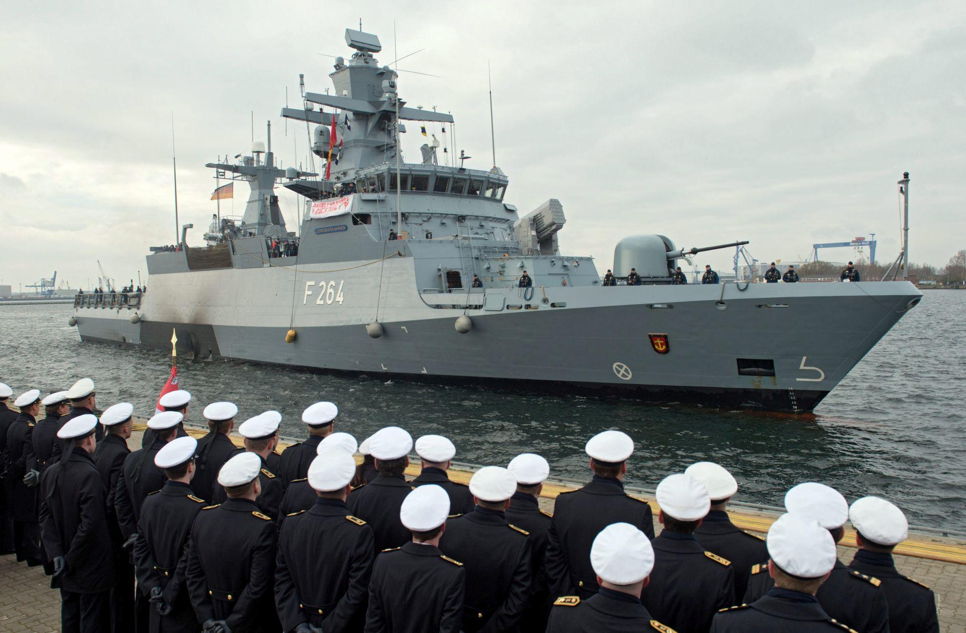 VEĆA SIGURNOST Njemačka nabavlja pet novih brodova vrijednih 1,5 milijardi eura