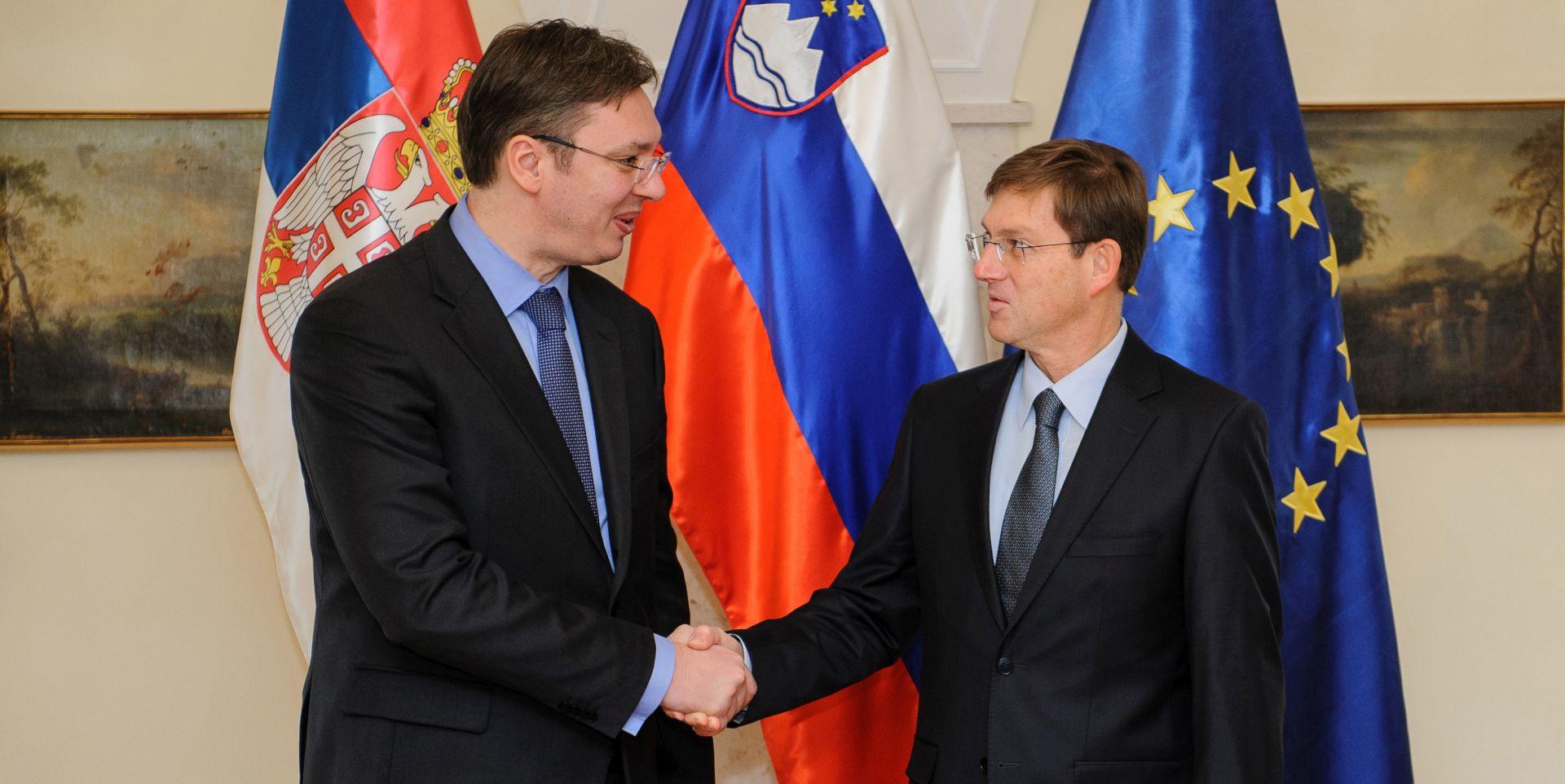 BEOGRAD u ponedjeljak zajednička sjednica vlada Srbije i Slovenije