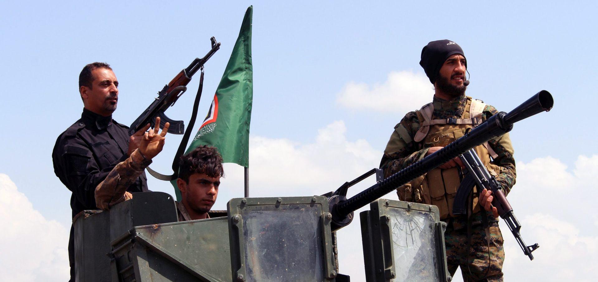 Iračke snage naišle na silovit otpor IS-a u Mosulu
