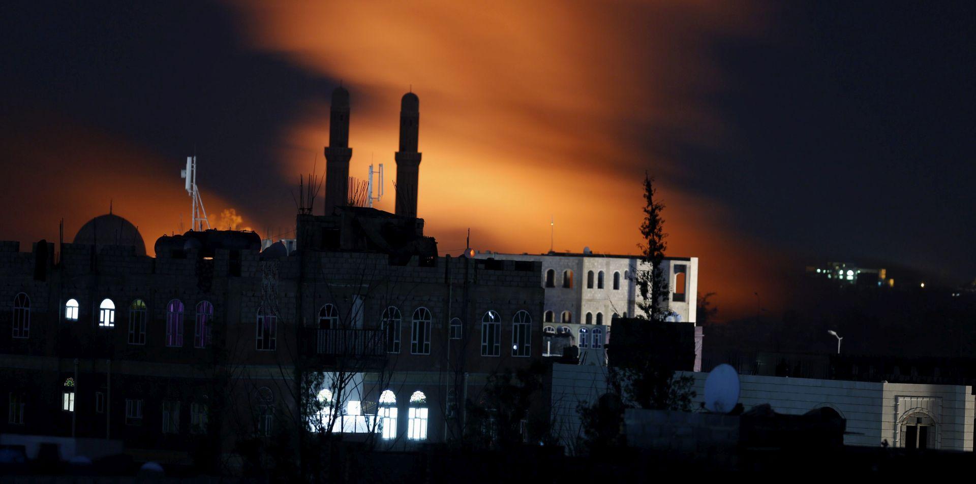 JEMEN U zračnom napadu na pogreb ubijeno najmanje 82 ljudi, više od 500 ranjeno