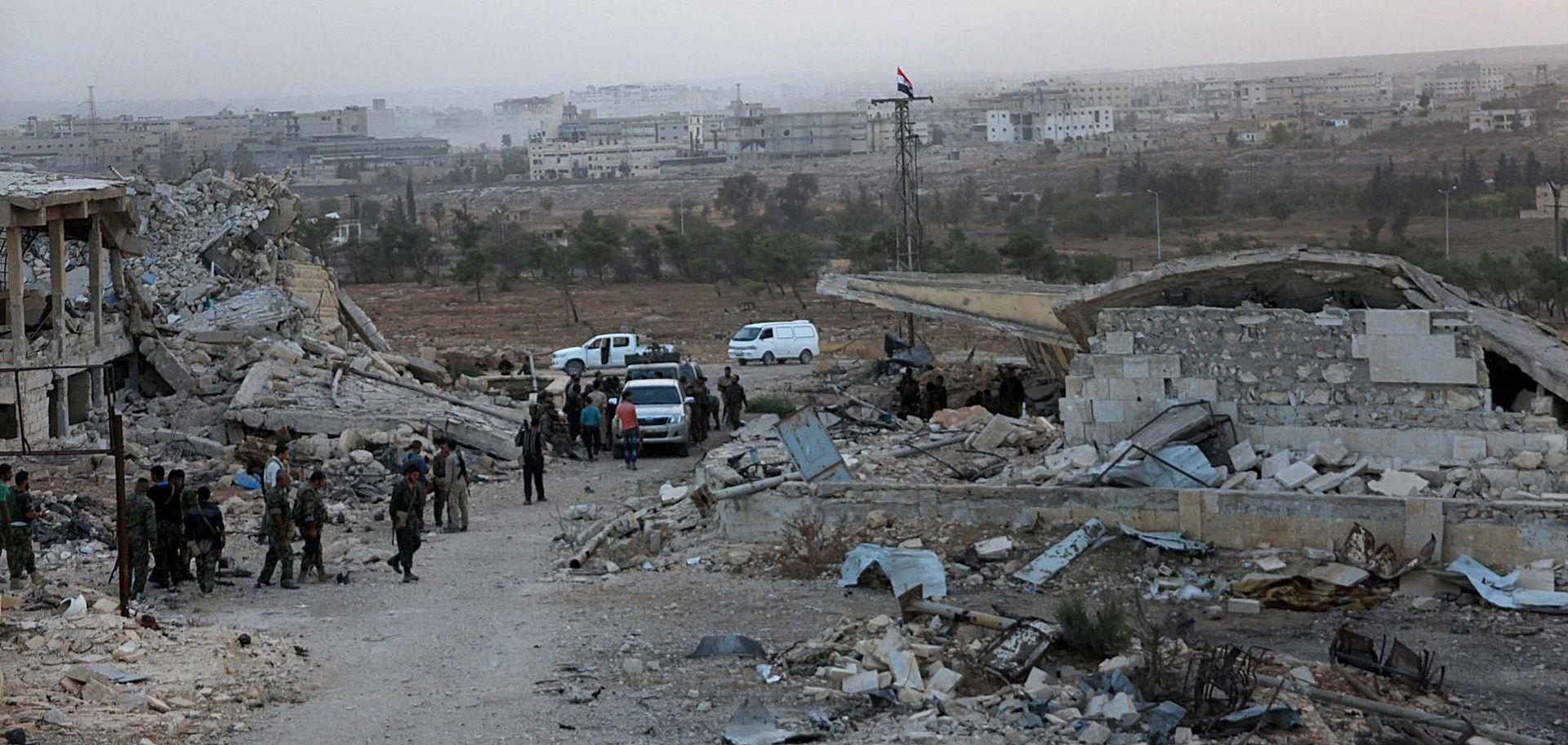 Sirijska vojska najavila da smanjuje bombardiranja Alepa