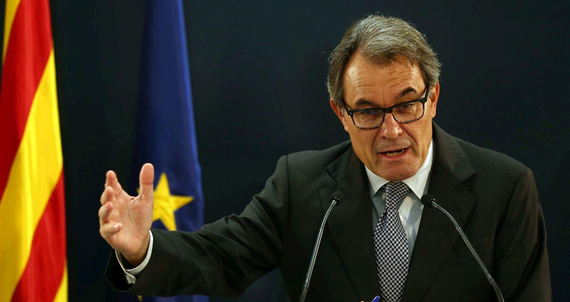 Parlament Katalonije zakazao referendum o neovisnosti od Španjolske