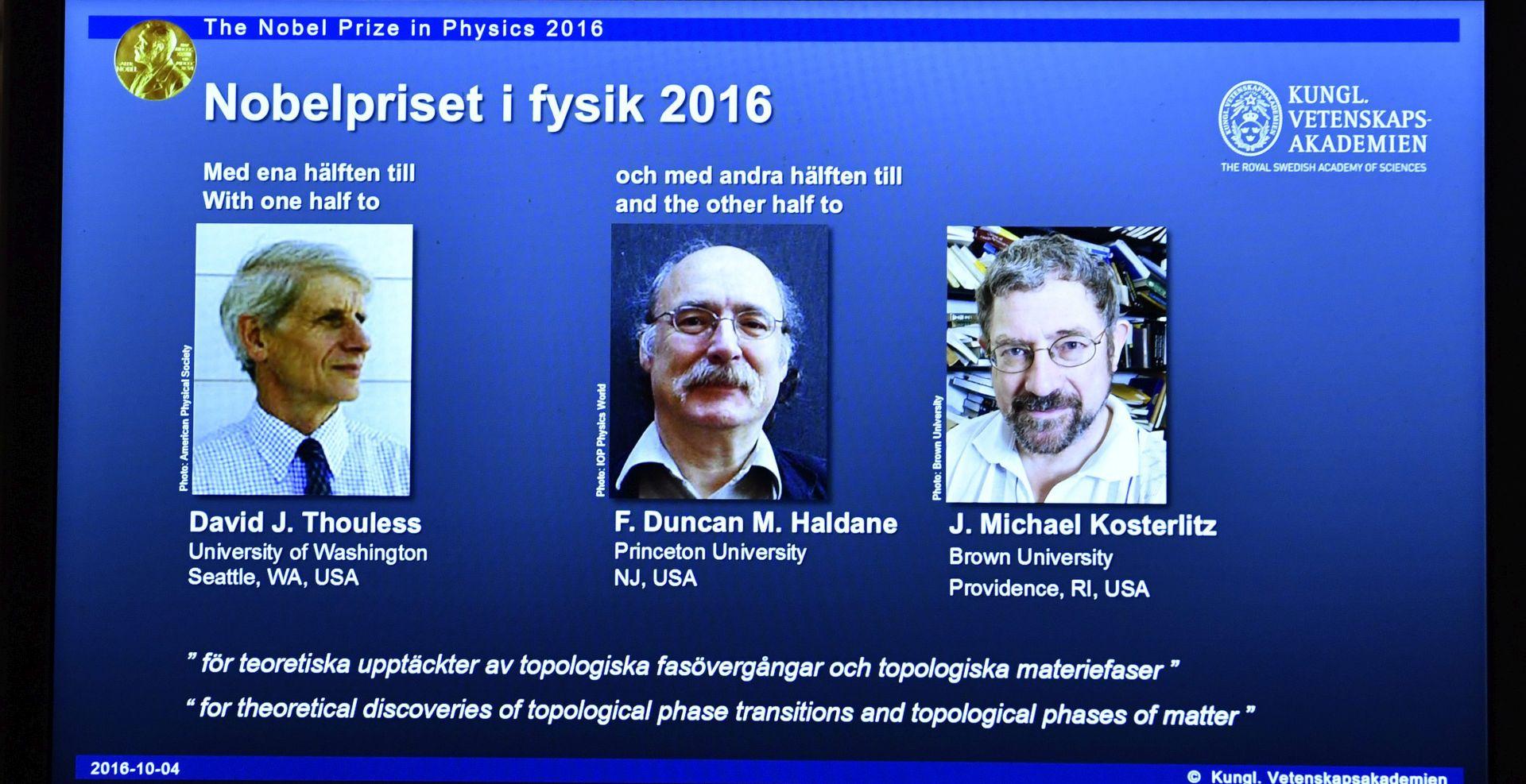 Dobitnici Nobela za fiziku, medicinu i kemiju sve stariji