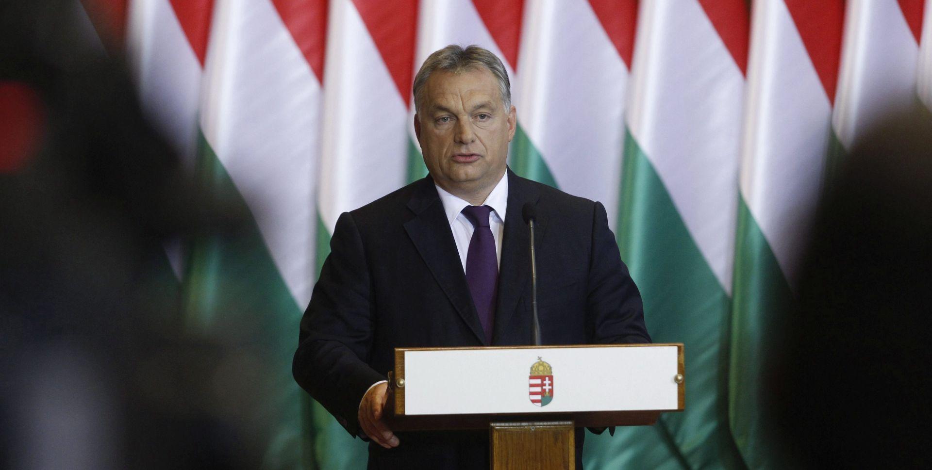"""VIKTOR ORBAN 'Mađarska je na strani """"europske slobode""""'"""