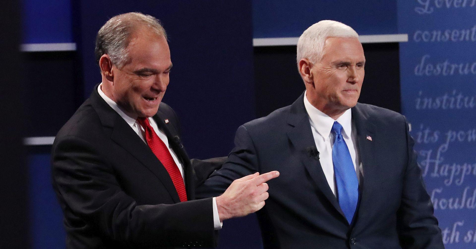 Potpredsjednička debata imala upola manju gledanost od one Trumpa i Clinton