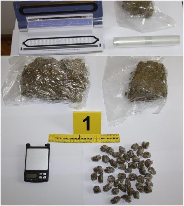 KAŠTELA: Pao s kilogramom marihuane