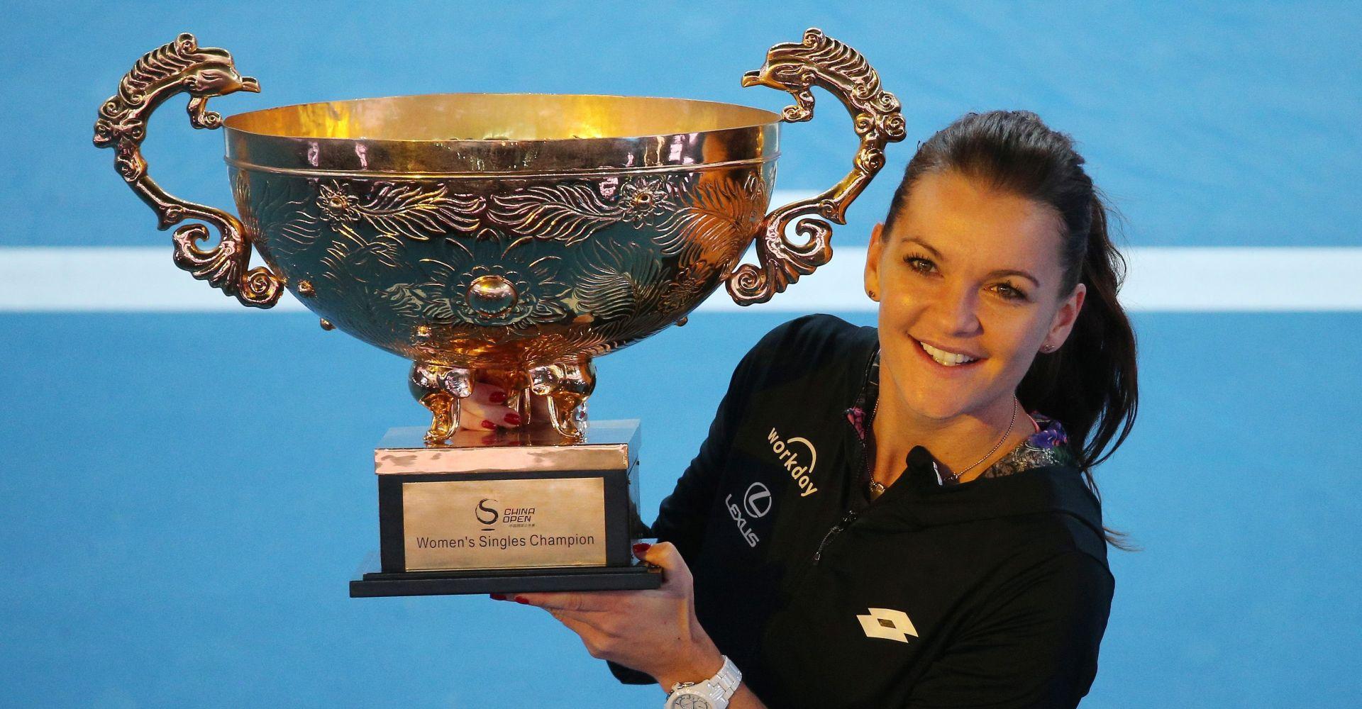 WTA PEKING Radwanska u finalu bolja od Konte