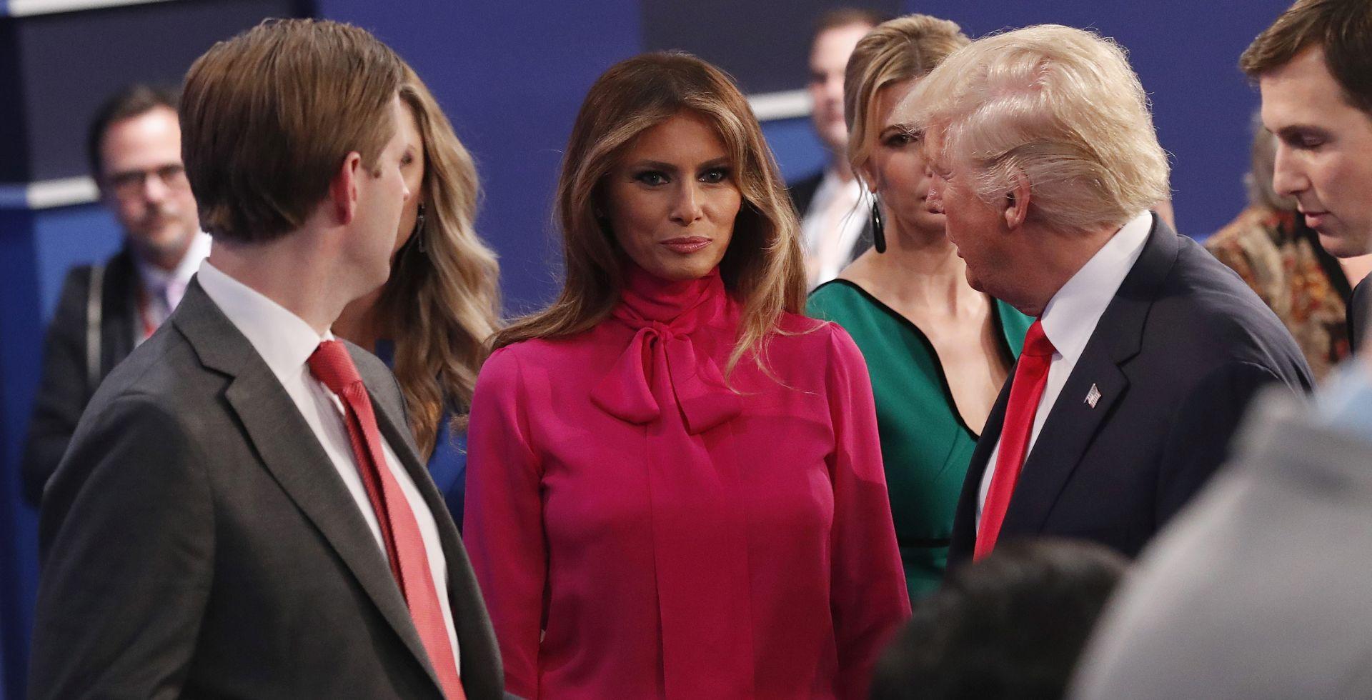 'BILI SU TO MUŠKI RAZGOVORI' Melania Trump o suprugovom odnosu prema ženama