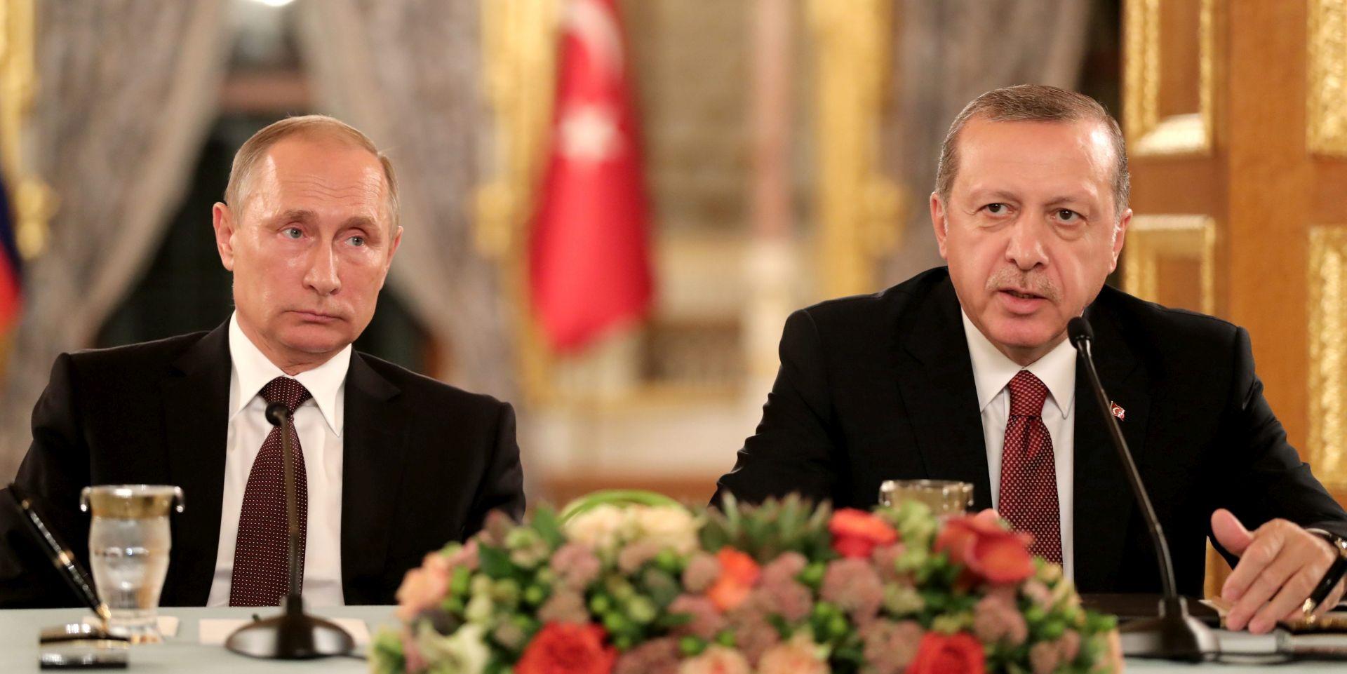 Putin i Erdogan suglasili se da Alepu mora stići humanitarna pomoć