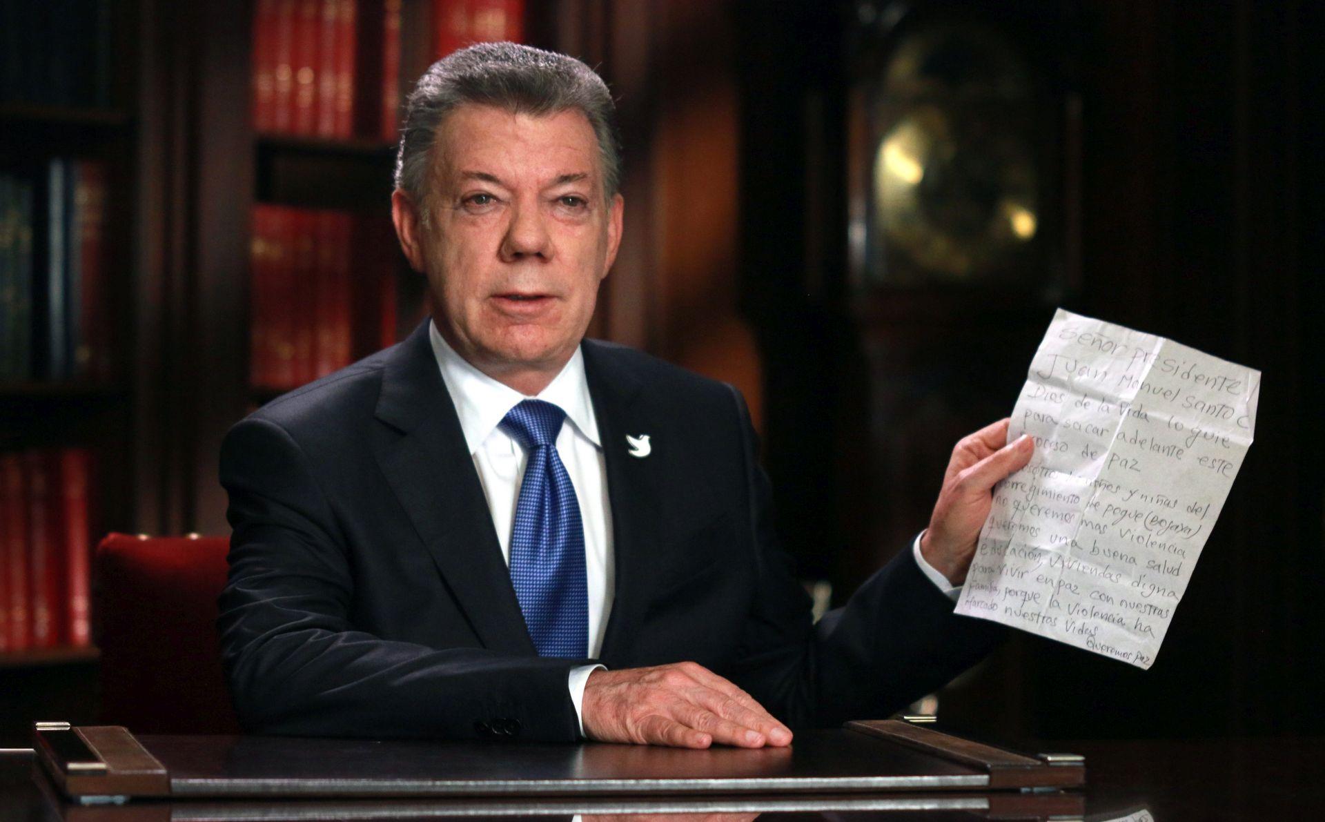 KOLUMBIJA Santos produljio primirje s FARC-om do kraja godine