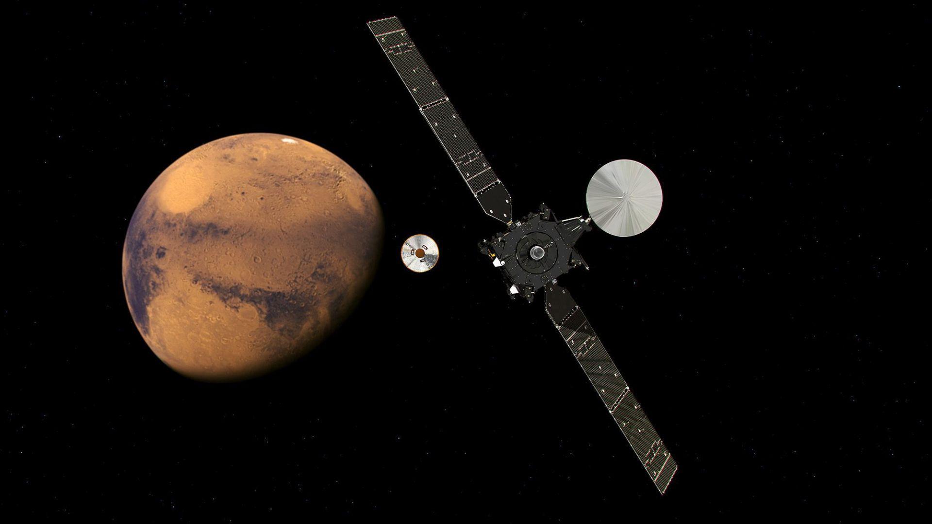 ESA kaže da je sonda TGO u očekivanoj orbiti oko Marsa, upitna sudbina 'landera' Schiaparelli