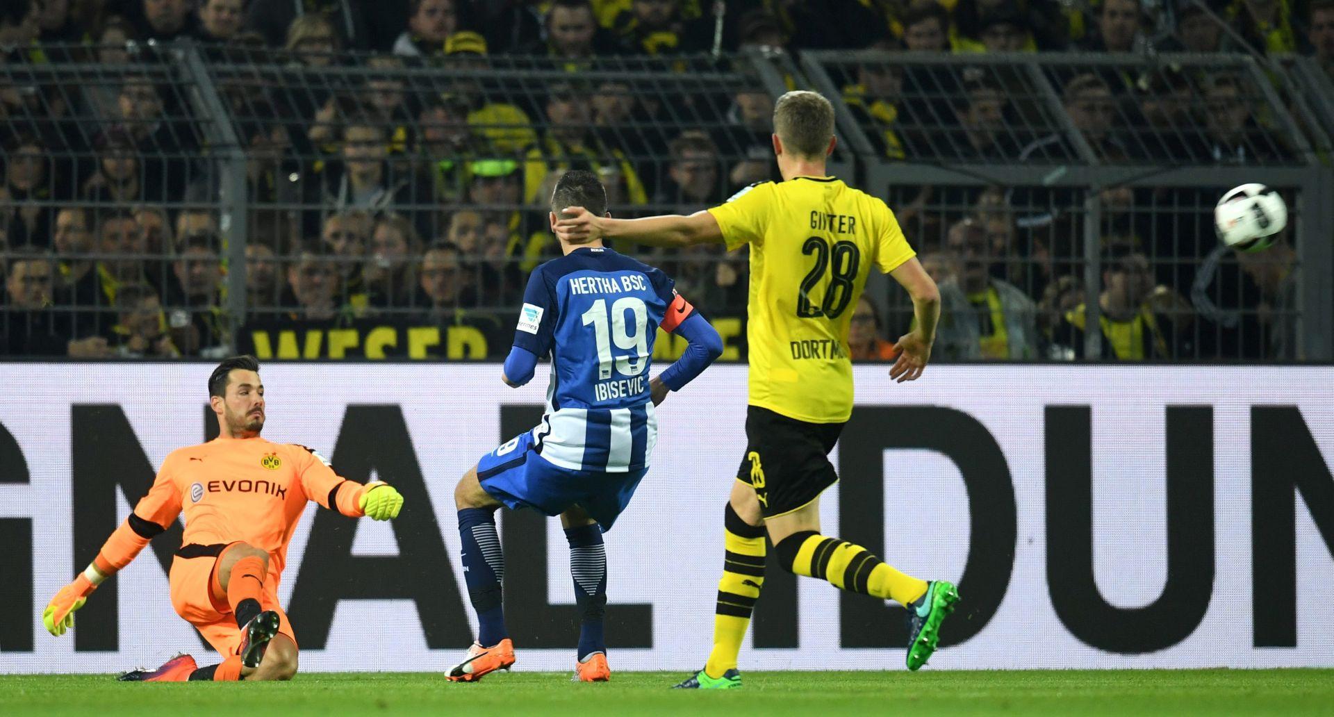 BUNDESLIGA Hertha i Borussia Dortmund remizirale, asistencija Ibiševića